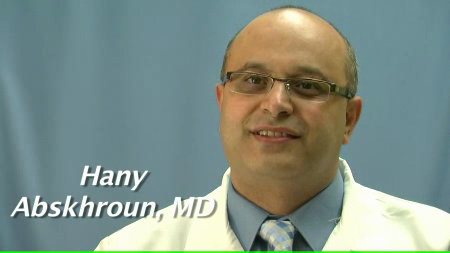 Dr. Abskhroun talks about his practice