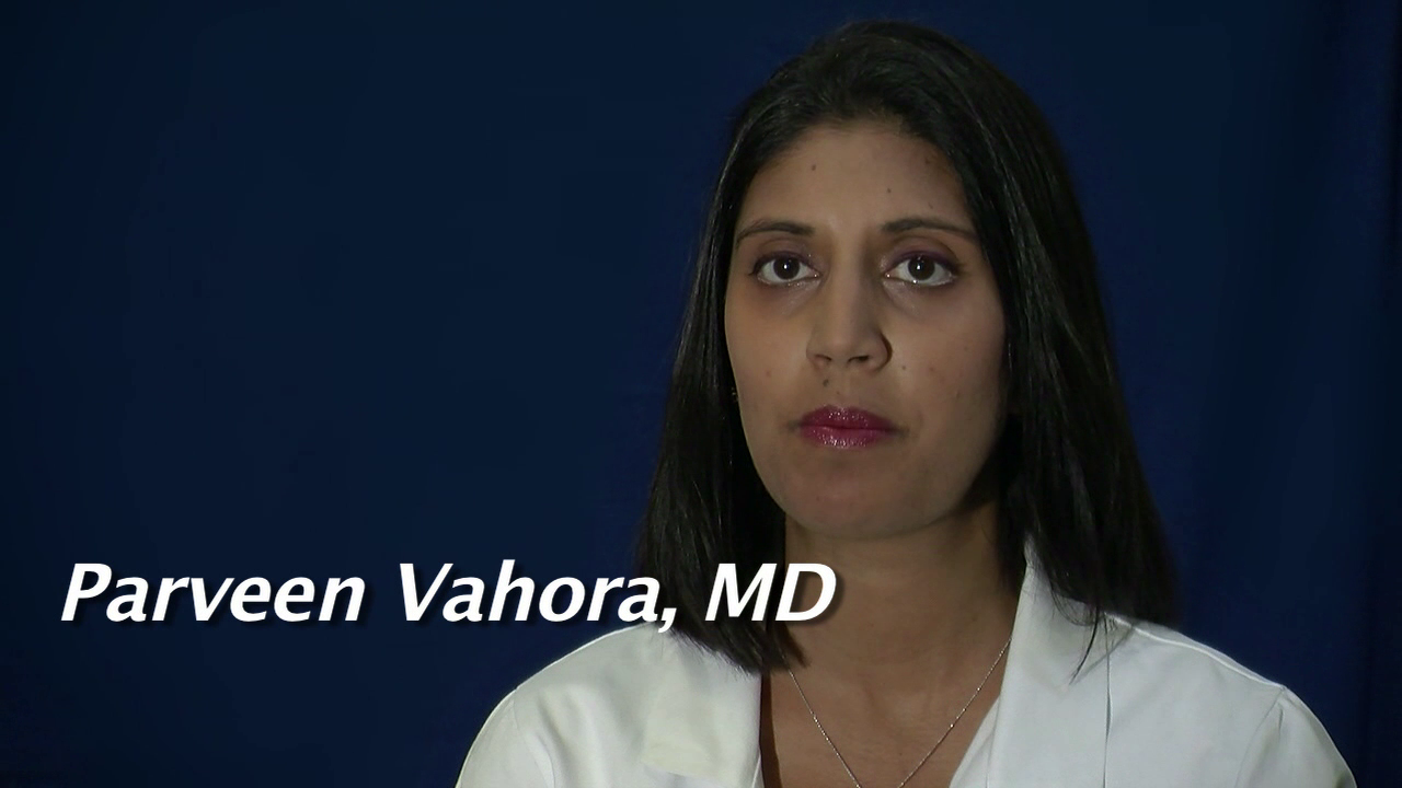 Dr. Vahora talks about her practice