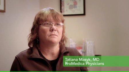 Dr. Masyk talks about her practice