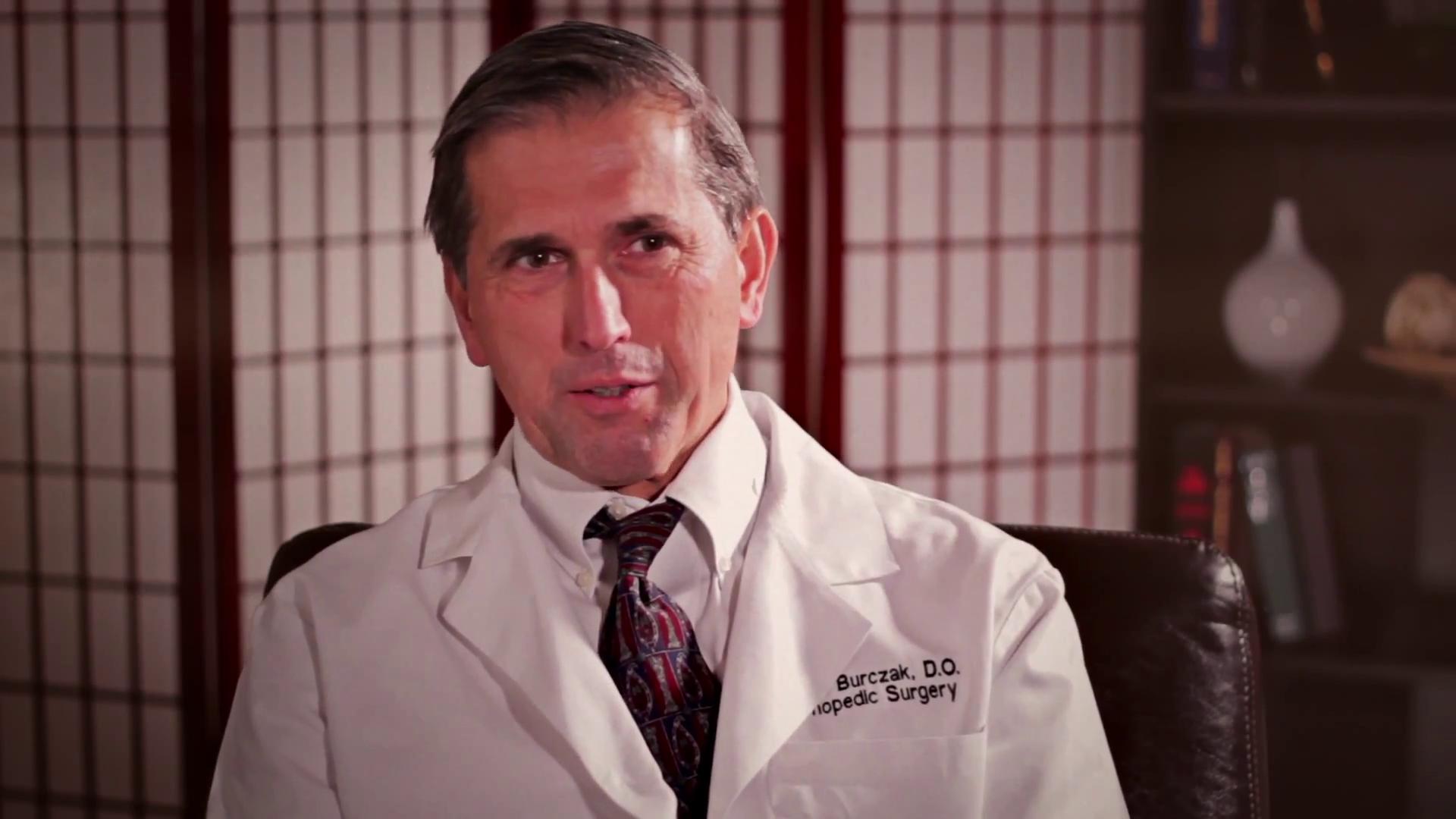 Dr. Burczak talks about his practice