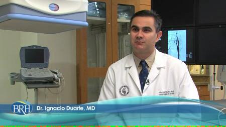 Dr. Duarte talks about his practice