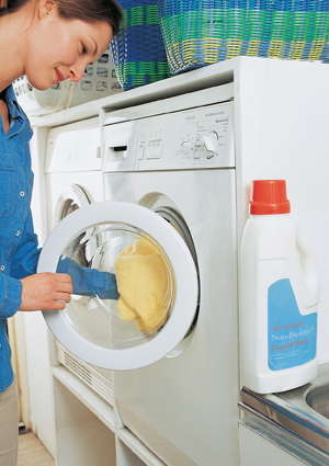 Wash bedding in hot water (130°F) each week.