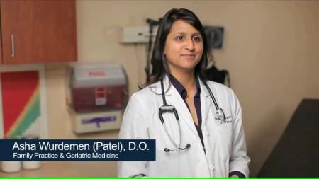 Dr. Wurdeman talks about her practice