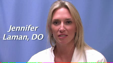 Dr. Laman talks about her practice