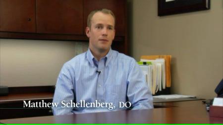 Dr. Schellenberg talks about his practice
