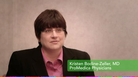 Dr. Bodine talks about her practice