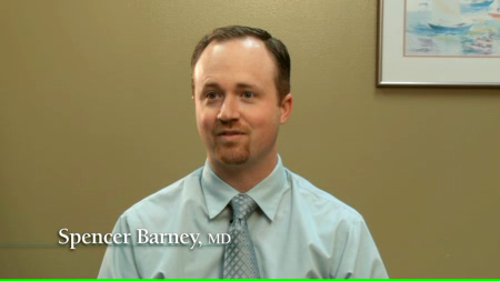 Dr. Barney talks about his practice