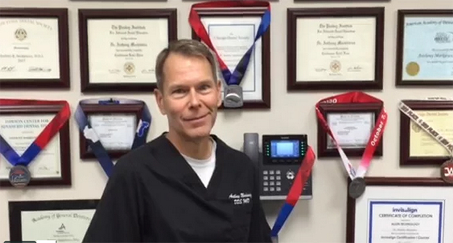 Dr. Markiewicz talks about his practice