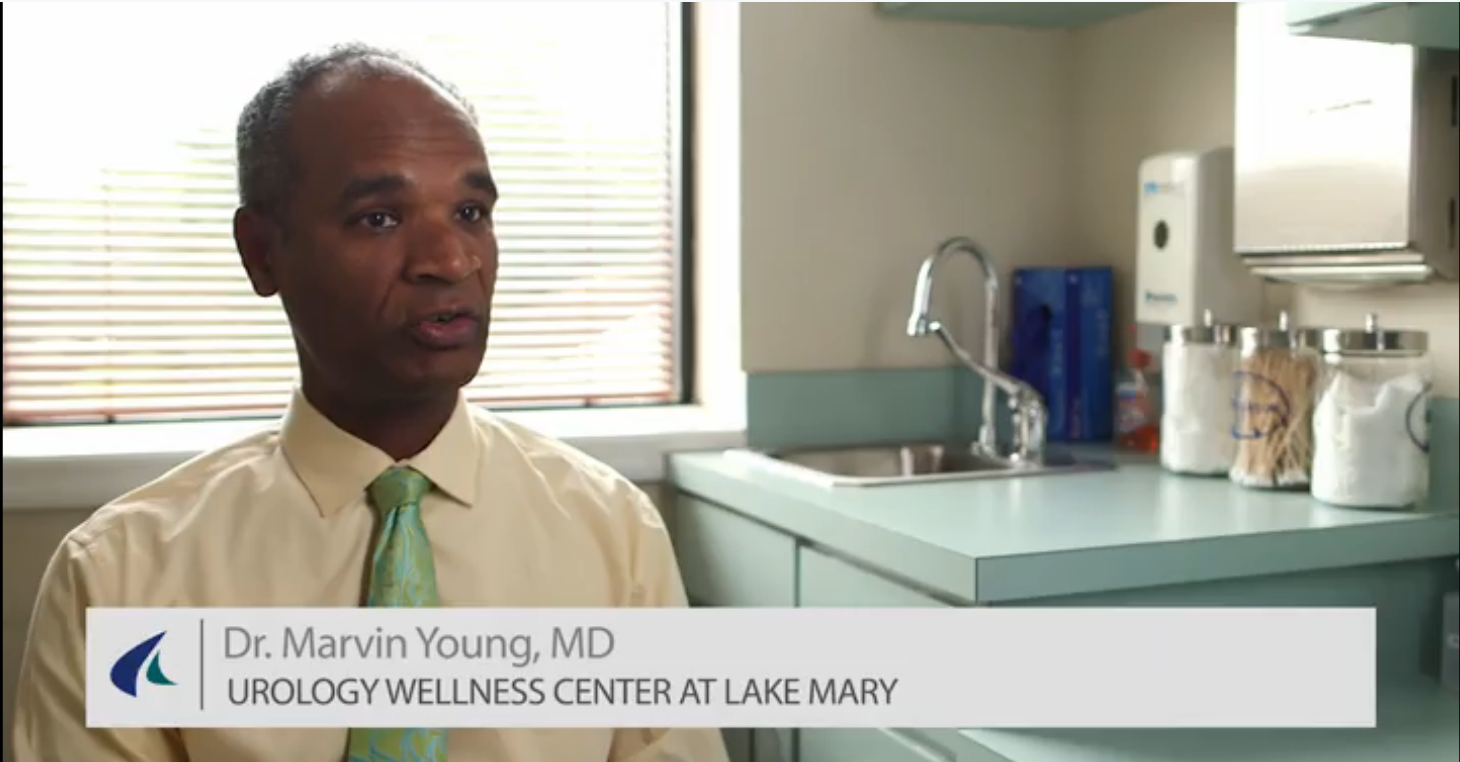 Dr. Young talks about his practice