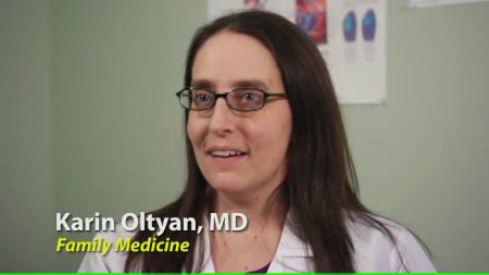 Dr. Oltyan talks about her practice