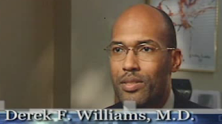 Dr. Williams talks about his practice