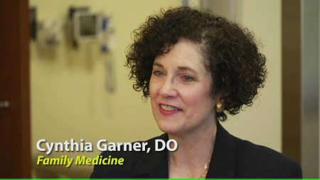 Dr. Garner talks about her practice