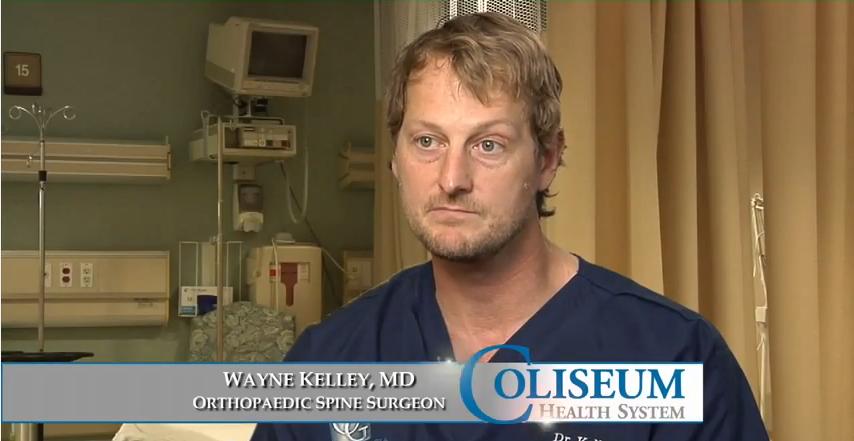 Dr. Kelley Jr. talks about his practice