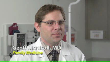 Dr. McNicoll talks about his practice