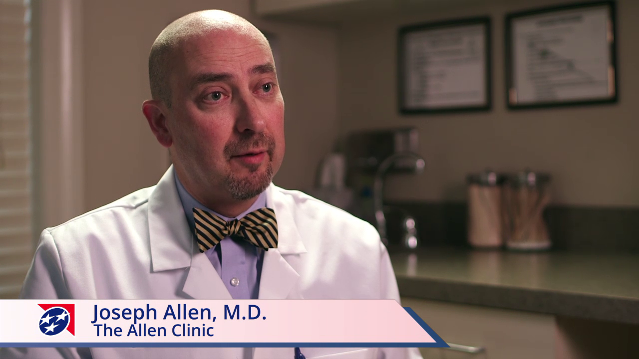 Dr. Allen talks about his practice
