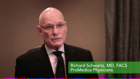 Dr. Schwartz talks about his practice