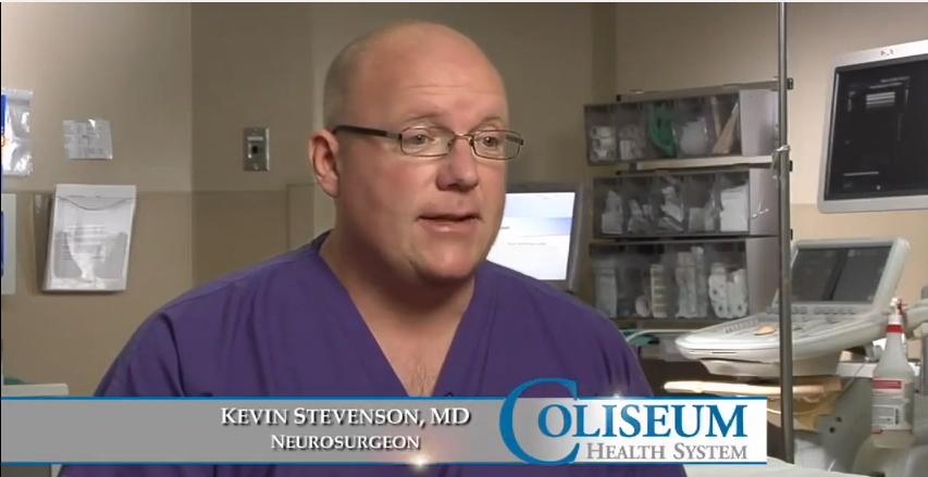 Dr. Stevenson talks about his practice