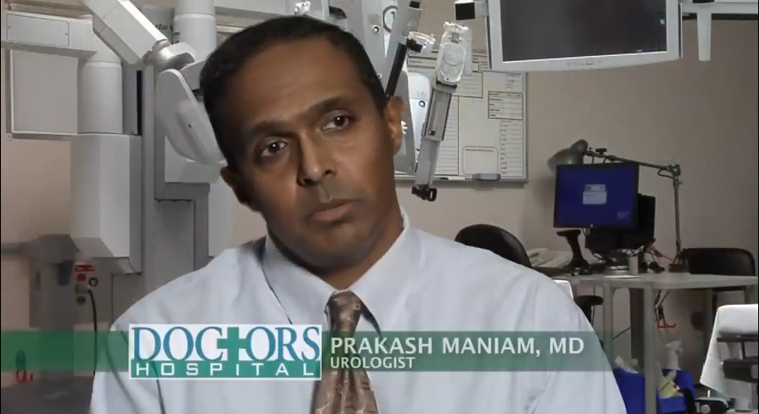 Dr. Maniam talks about his practice