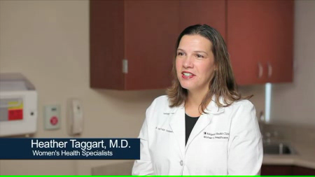 Dr. Taggart talks about her practice