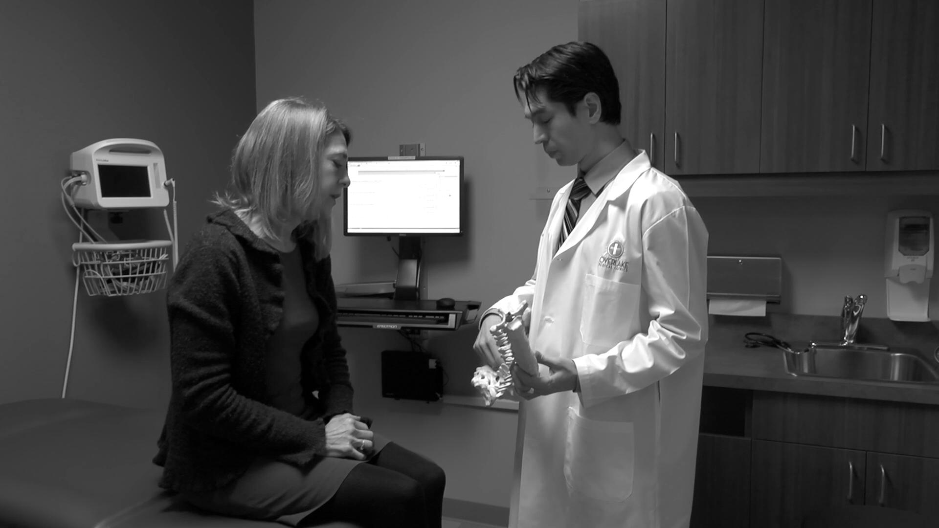 Dr. Bishop talks about his practice