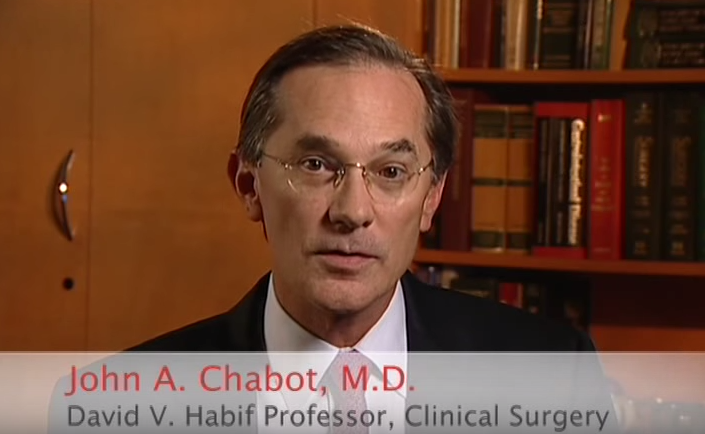 Dr. Chabot talks about his practice