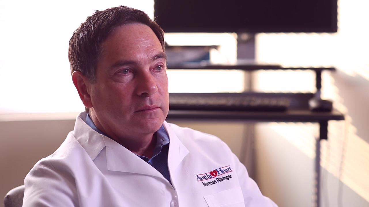 Dr. Risinger Jr. talks about his practice