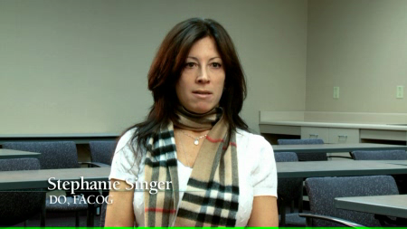 Dr. Singer talks about her practice