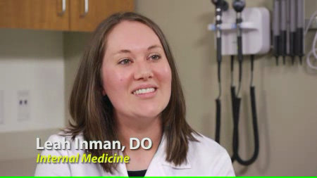 Dr. Inman talks about her practice