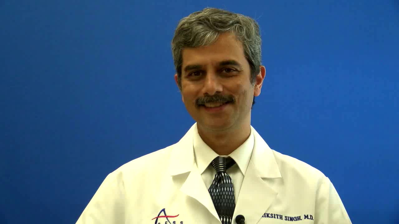 Dr. Singh talks about his practice
