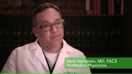 Dr. Wainstein talks about his practice