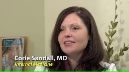 Dr. Sandall talks about her practice
