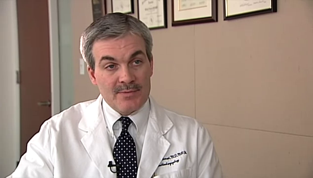 Dr. Stewart talks about his practice