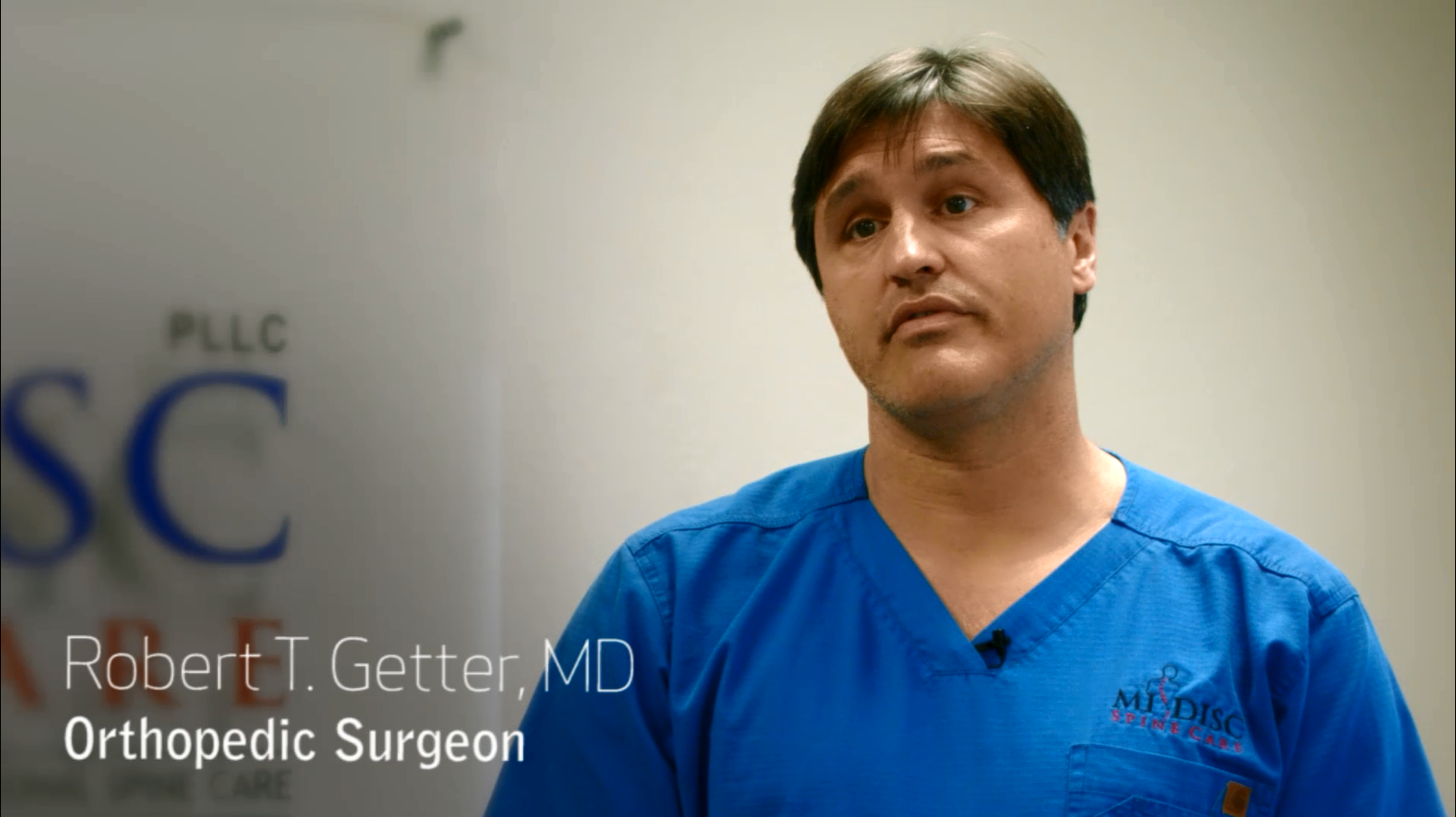 Dr. Getter talks about his practice