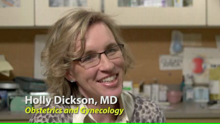 Dr. Dickson talks about her practice