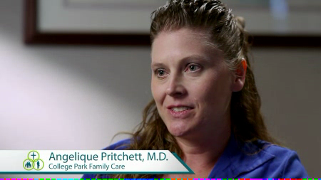 Dr. Pritchett talks about her practice