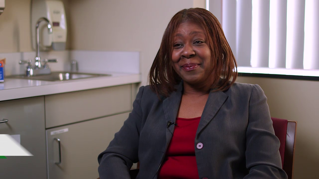 Dr. Houston-Gray talks about her practice
