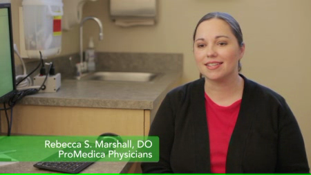 Dr. Marshall talks about her practice