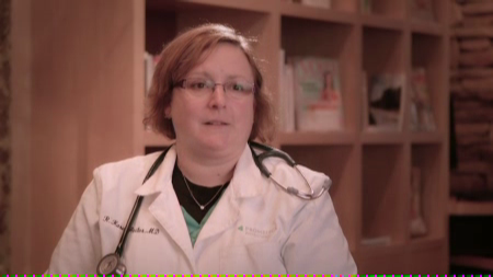 Dr. Reiter talks about her practice