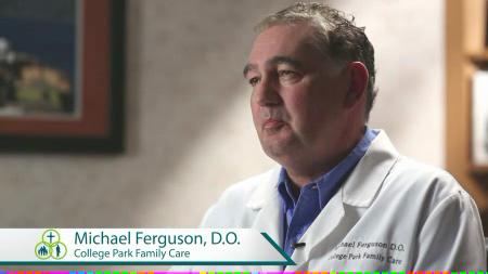 Dr. Ferguson talks about his practice