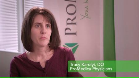 Dr. Karolyi talks about her practice