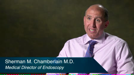 Dr. Chamberlain talks about his practice