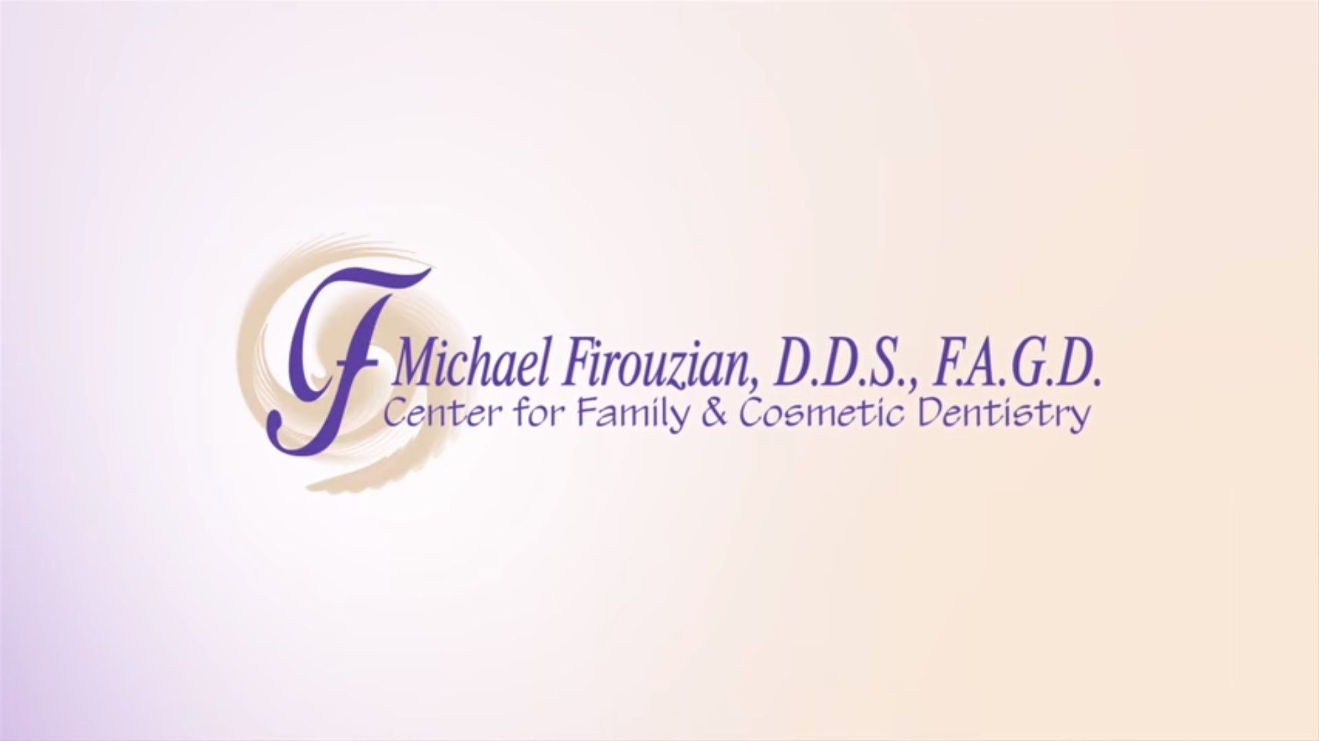 Dr. Firouzian talks about his practice