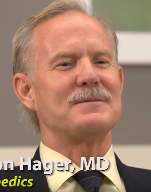 Dr. Hager talks about his practice