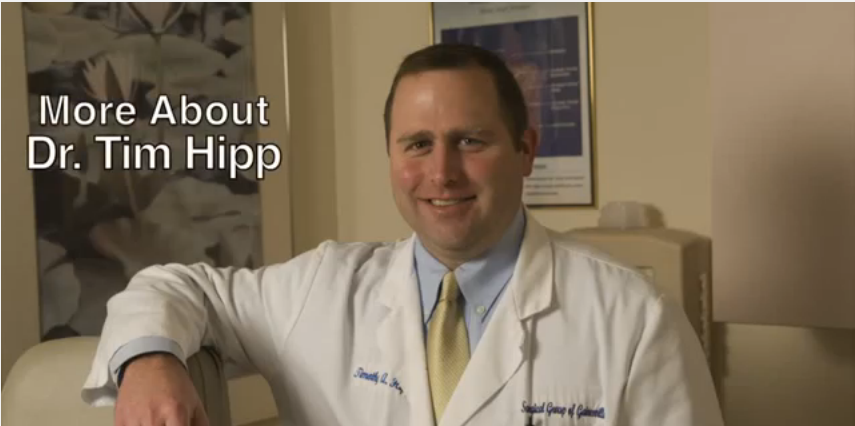 Dr. Hipp talks about his practice