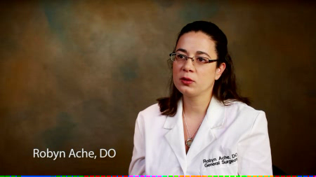 Dr. Ache talks about her practice