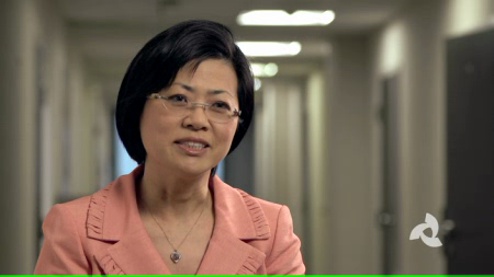 Dr. Chung talks about her practice