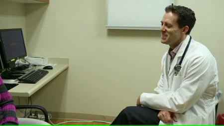Dr. Zebrack talks about his practice