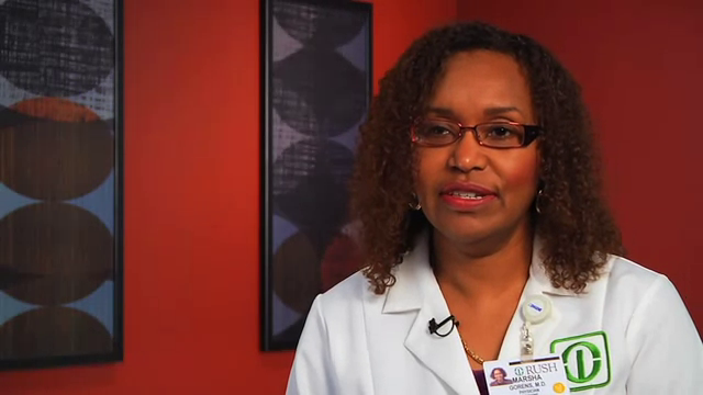 Dr. Gorens talks about her practice