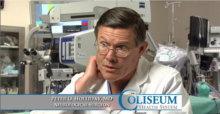 Dr. Holliday III talks about his practice