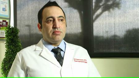 Dr. Sedagheh Pakravan talks about his practice